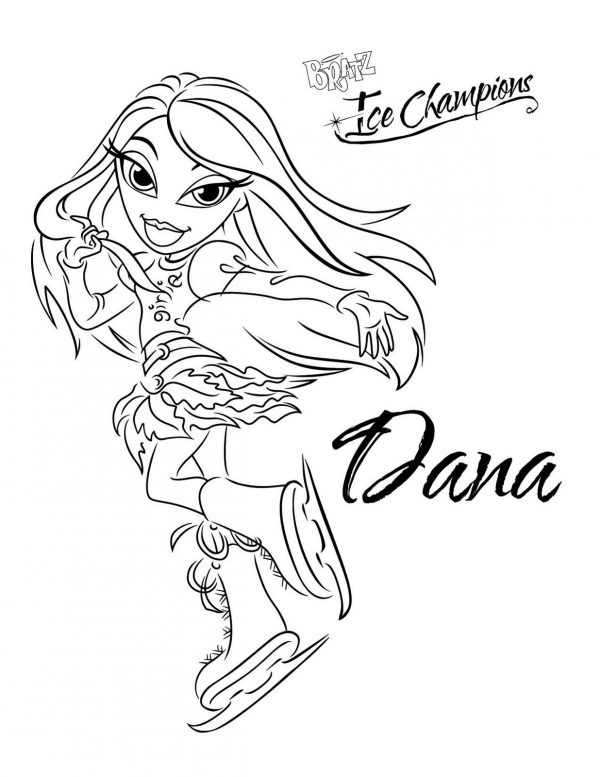 Coloring pages princess brats