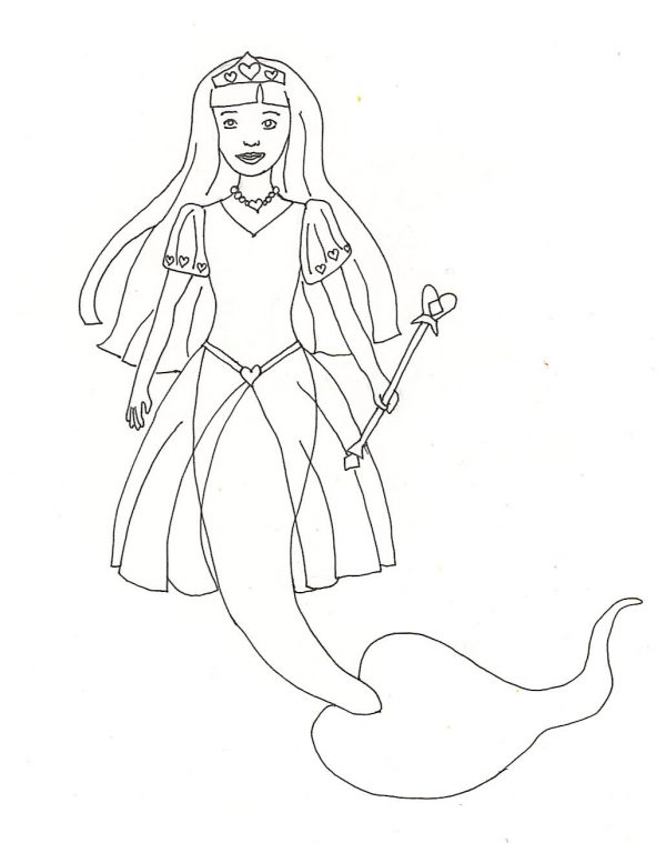 farytale princess coloring pages - photo#24