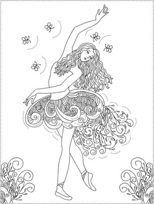 Princess Coloring Pages Ballerina