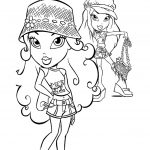 Princess Coloring Pages brats