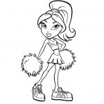 Brats coloring pages princess