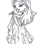Disney Bratz coloring pages