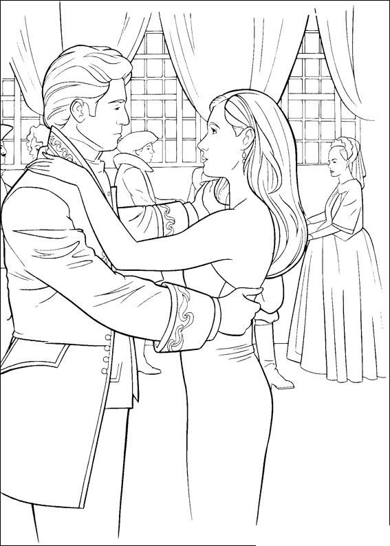 enchanted coloring pages | Disney Princess Coloring Pages - Find thousands of Disney ...