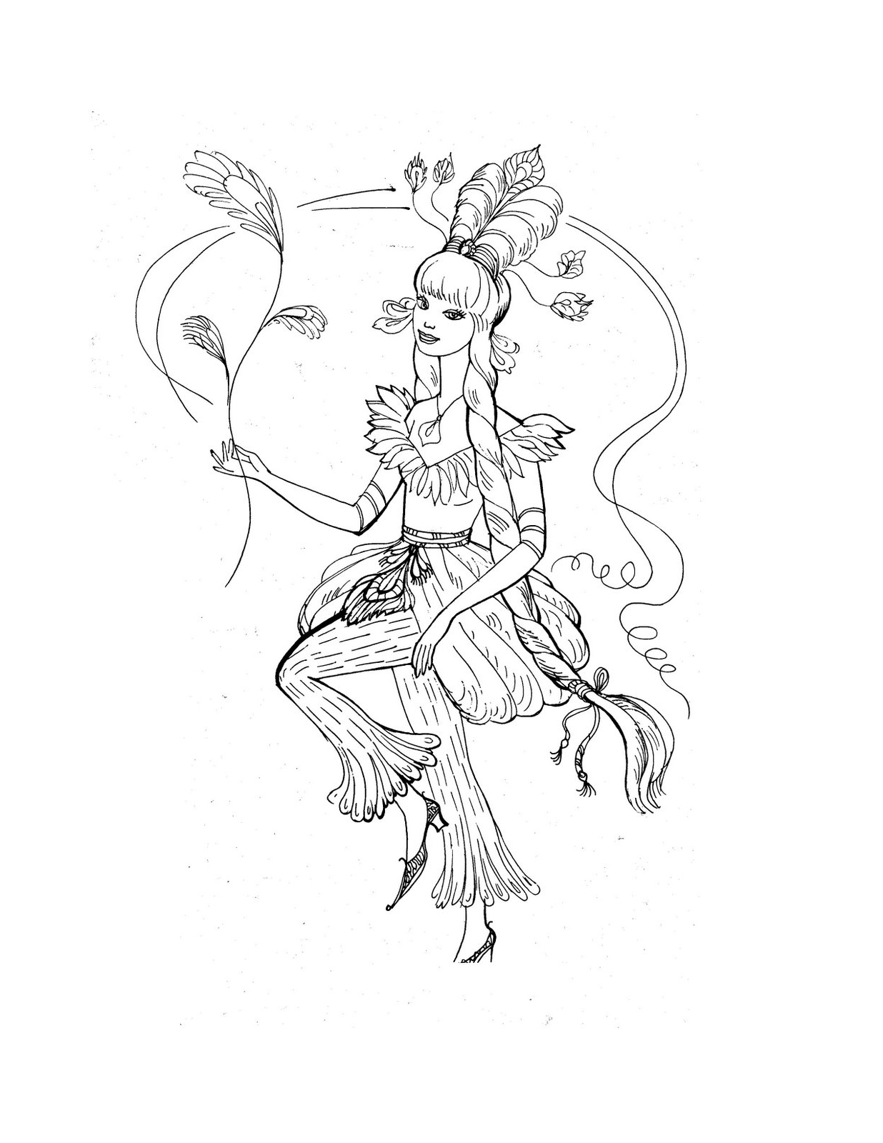 Princess Coloring Pages