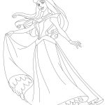 Princess coloring pages sleeping beauty